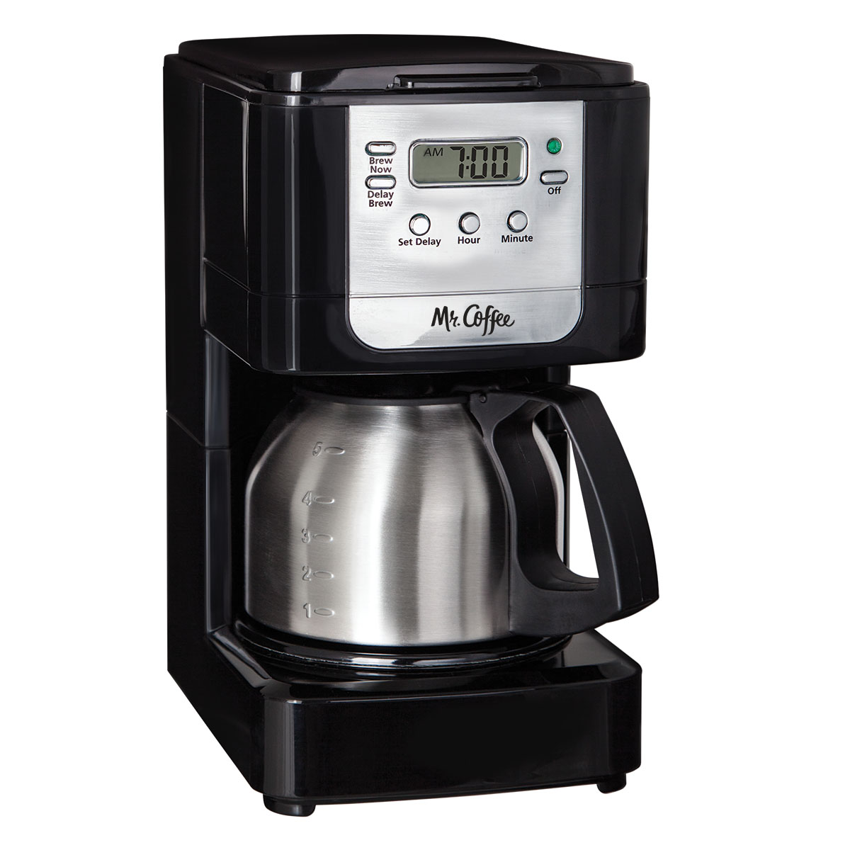 Coffee Maker Stainless Steel Inside : Mr. Coffee Advanced Brew 5Cup Programmable Coffee Maker w-Stainless Steel Carafe Most ...