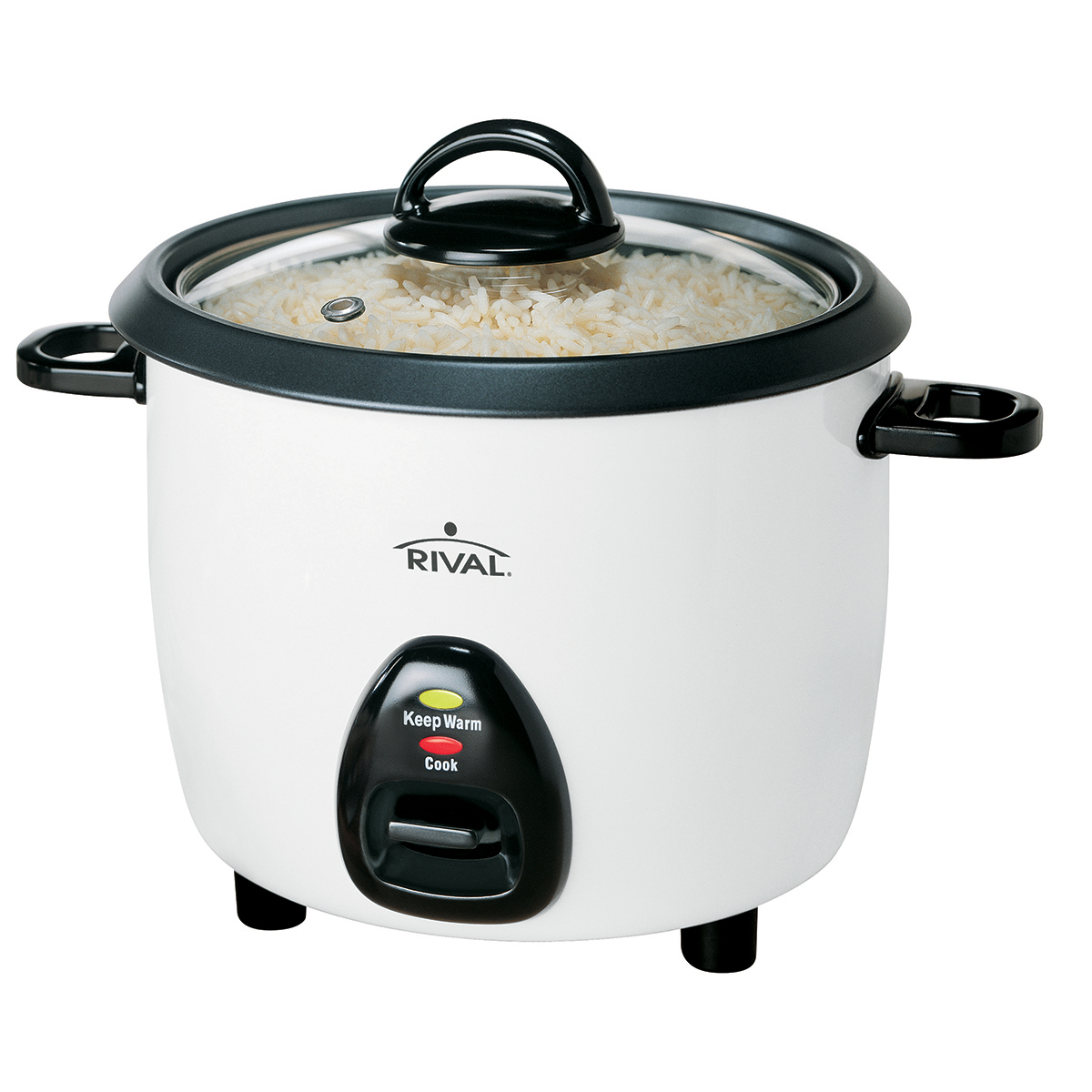 Rival Rc101 10 Cup Rice Cooker With Steamer White 692761546035 Ebay